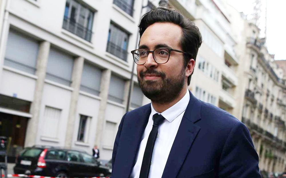 Le nouveau Secrétaire d'Etat au numérique, Mounir Mahjoubi (Photo Charly Triballeau - AFP - 20 Minutes)