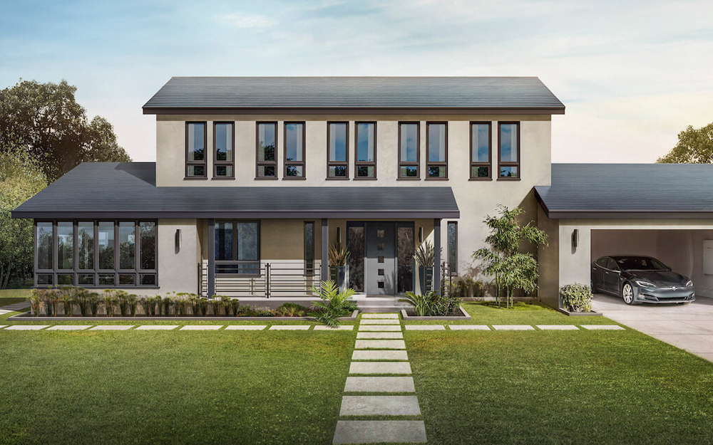 La toiture Solar Roof est prévue pour tous les modèles de toitures classiques (Photo Tesla )