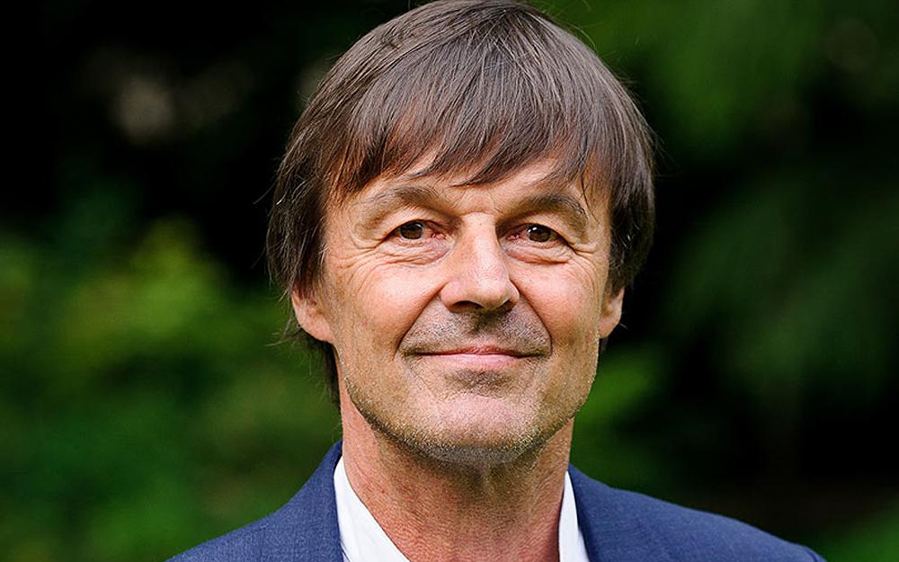 Nicolas Hulot, ministre de la Transition écologique et solidaire ( photo officielle Arnaud Bouissou / Terra)