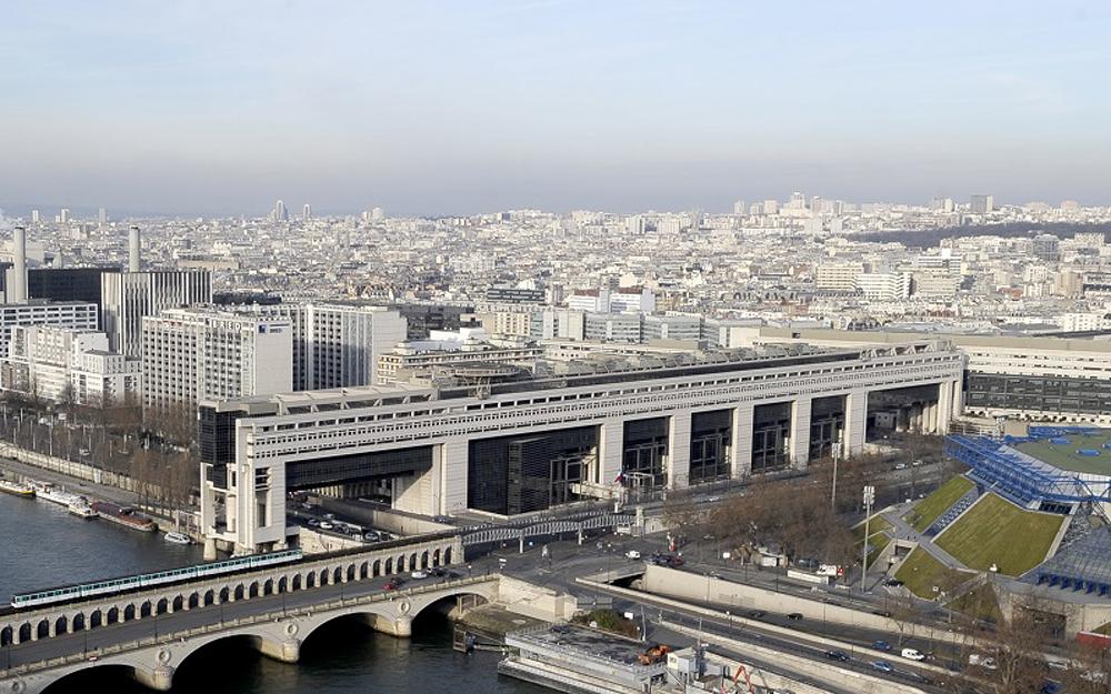 le site de Bercy, site principal du Ministère de l'Economie et des Finances (Photo DR : MEFBercy)