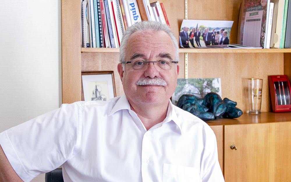 Laurent Damour, Maire de Ste Gemmes sur Loire et 8e vice président de la communauté urbaine Angers Loire Métropole