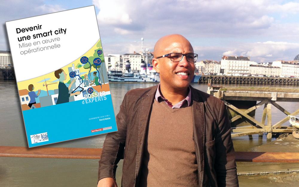 David Assou auteur de l'ouvrage (Photo blog de l'école de Design de Nantes)
