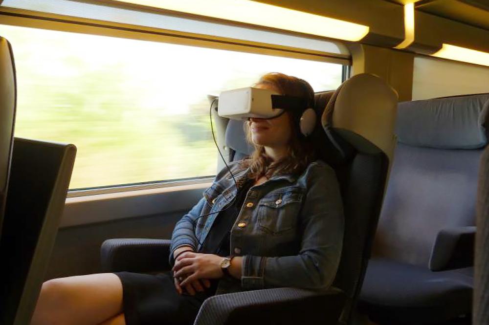 Un service innovant pour les voyageurs transalpins, en première classe (Photo SNCF)