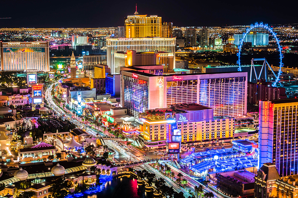 Las Vegas (Nevada), une ville qui optimise désormais la gestion de son électricité (Photo HolidayGuru.fr)