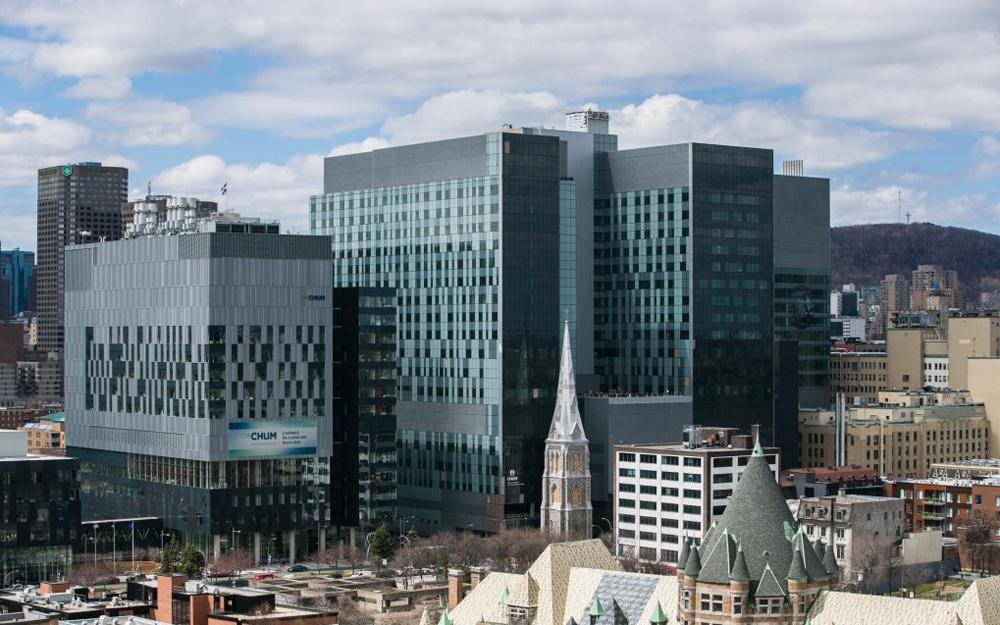 Le Centre Hospitalier Universitaire de Montréal (CHUM), pilote du projet franco-canadien (Photo by Gino)