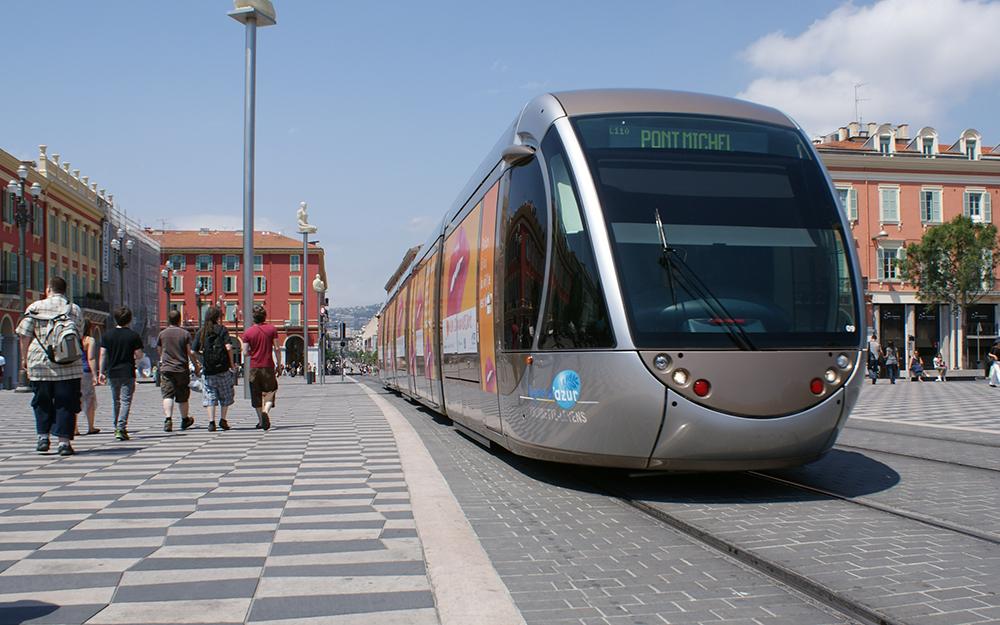 La première ligne de métro de Nice (photo ville de Nice)