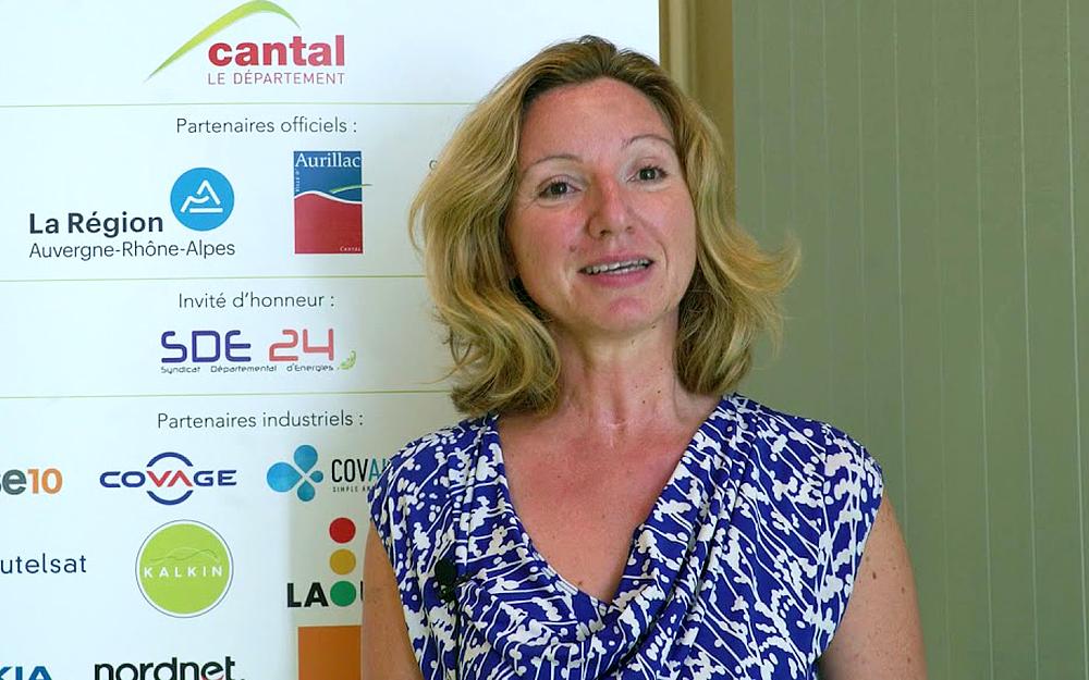 Nathalie Dirand, directrice du développement de Covage (photo Ruralitic, le Smart Village)