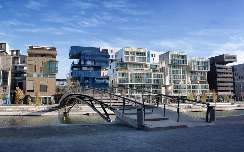Lyon, le quartier de la Confluence (photo Laury Rouzé - Grand Lyon)