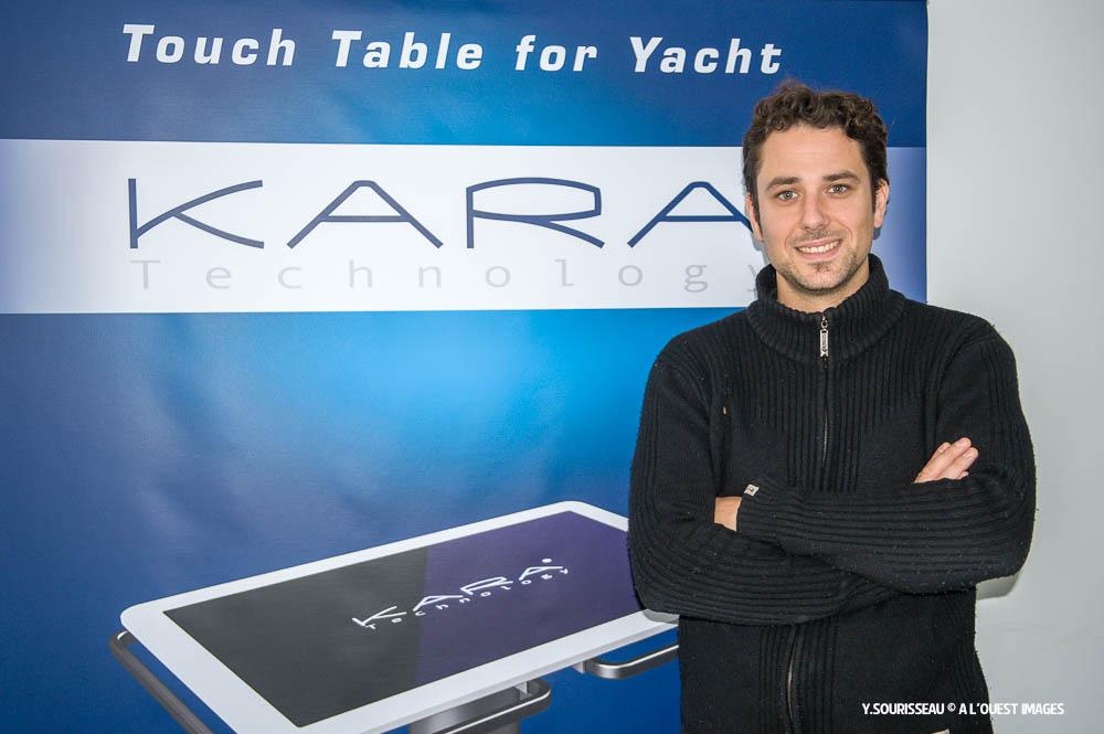 Ivain Bignonet, le CEO de Kara Technolgy