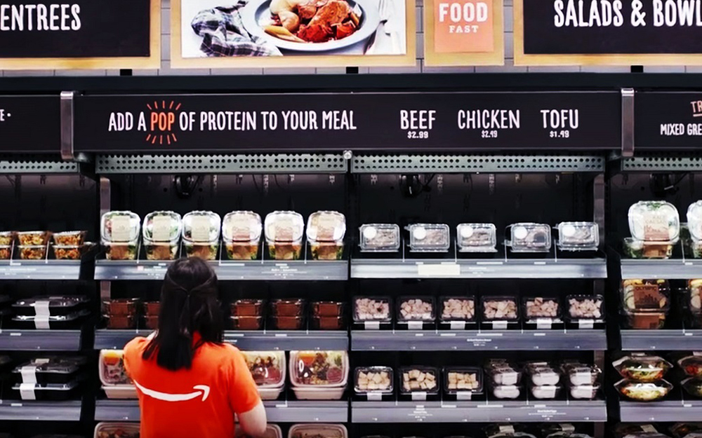 le magasin Amazon Go de Seattle (Photo Amazon)