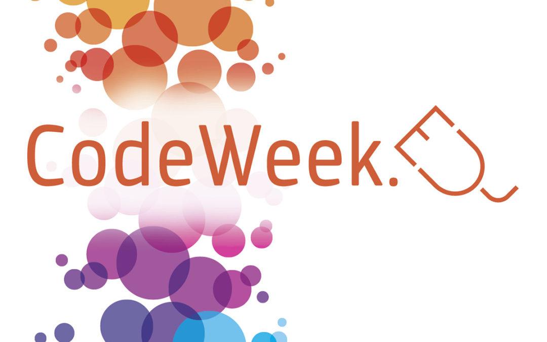 Code Week : Semaine Européenne du code informatique