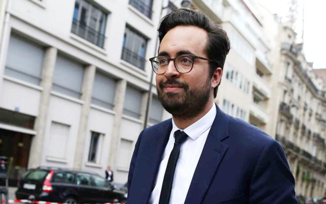 Le Secrétaire d'Etat au numérique, Mounir Mahjoubi (Photo Charly Triballeau - AFP - 20 Minutes)