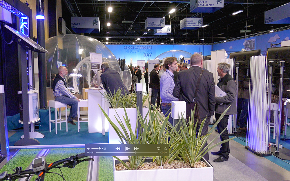 Le salon Innovation's Day au parc des expositions d'Angers