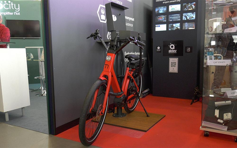 Le prototype de la borne ESYL, présenté lors du WEF 2017 à Angers