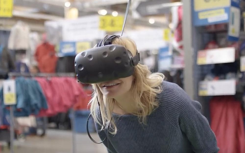 La réalité virtuelle un moyen de choisir son matériel sans le déplier dans le magasin.