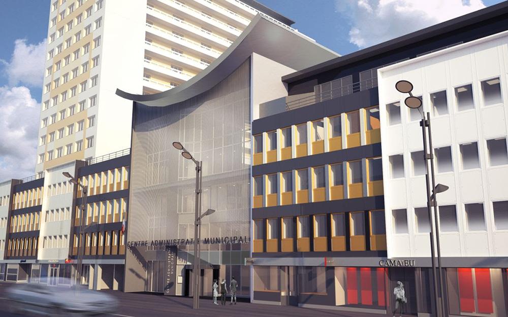 Un centre administratif municipal à Issy-les-Moulineaux (Photo Ville d'Issy-les-Moulineaux)