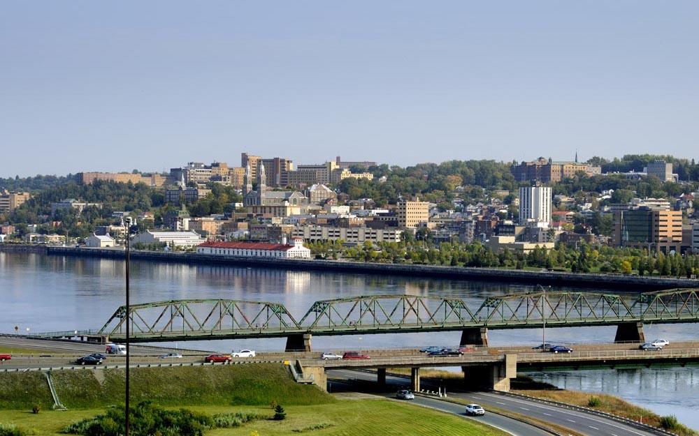 Saguenay, l'arrondissement de Chicoutimi (Crédit Photo : Ville de Saguenay)