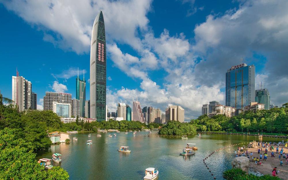Entre végétalisation et béton, Shenzhen anticipe sa croissance (photo City Weekend)