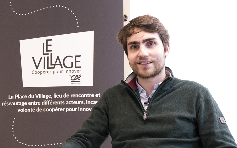 Maxime Leray, le maire du Village by CA d'Angers