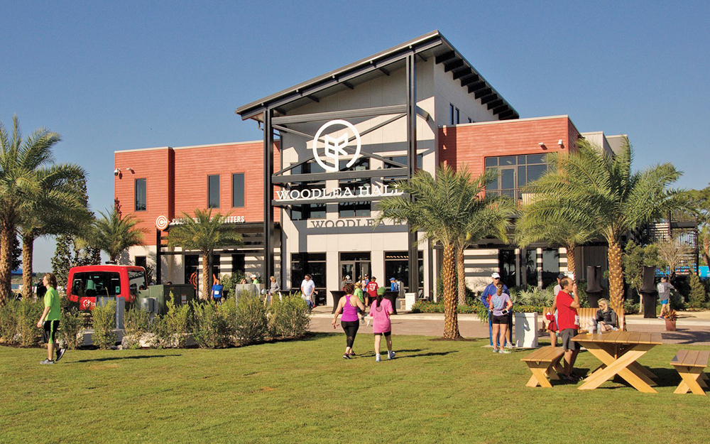 Le centre-ville de Babcock Ranch (photo Fort Myers Florida Weekly)