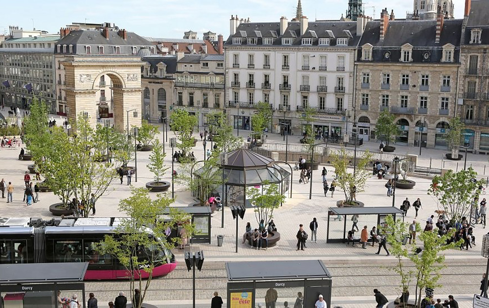 Dijon, un territoire très en pointe dans la démarche de territoire intelligent (Photo Ville de Dijon)