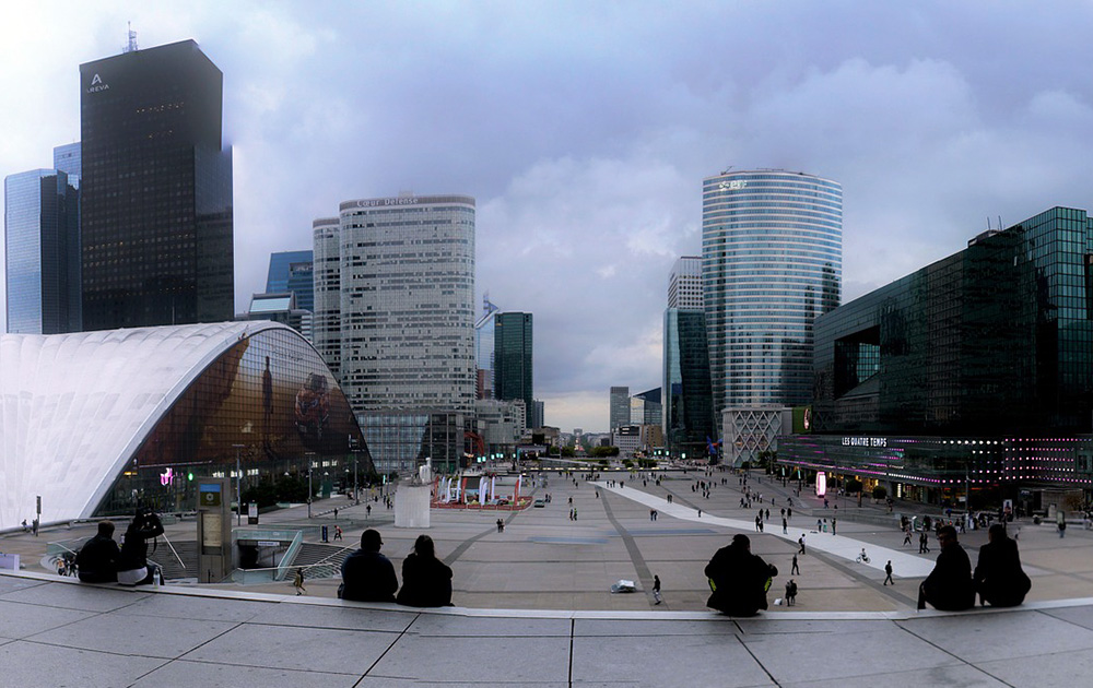 Le quartier de la Défense à Paris (Photo Pixabay)