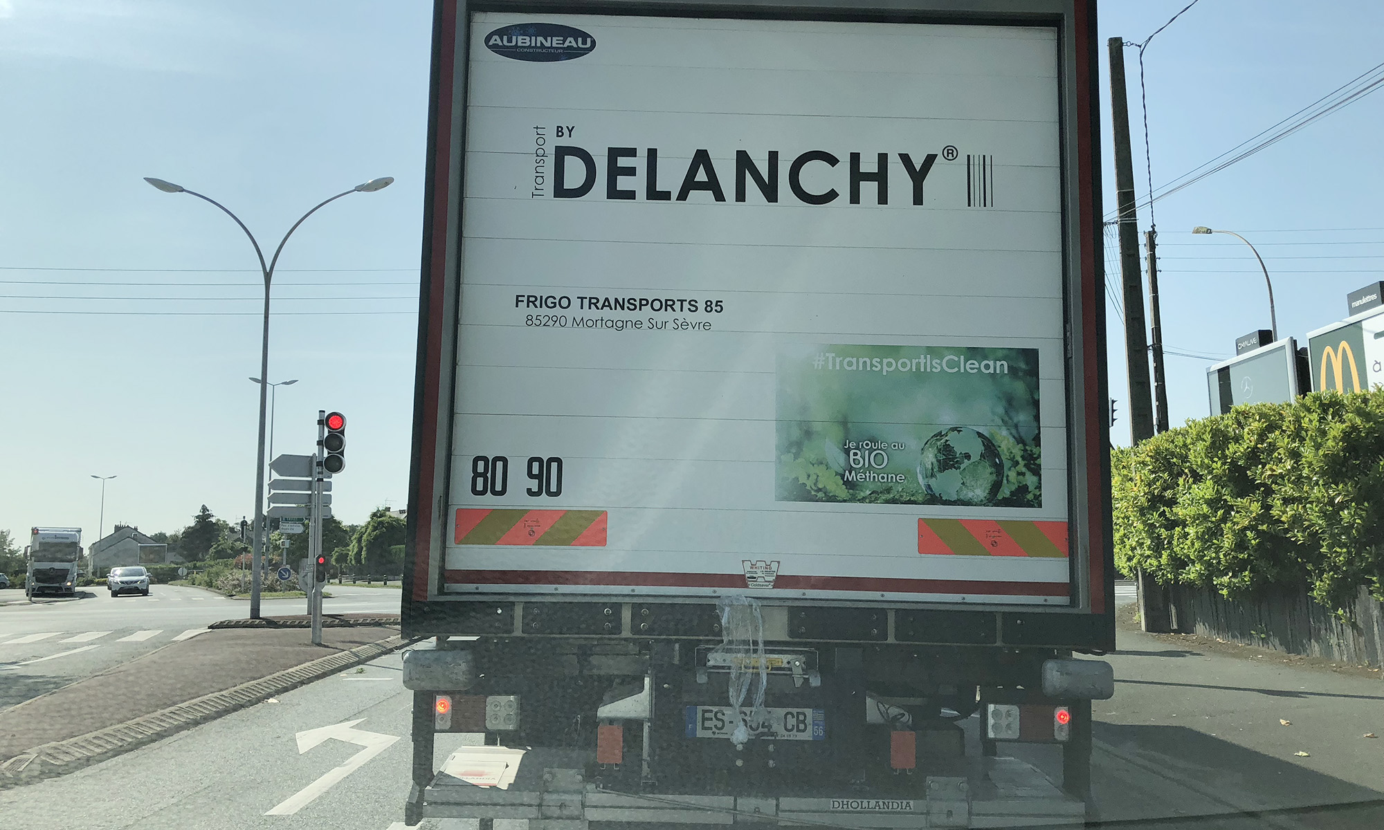 Delanchy, un transporteur français qui a pris le virage écologique en utilisant des camions qui roulent au bio GNV