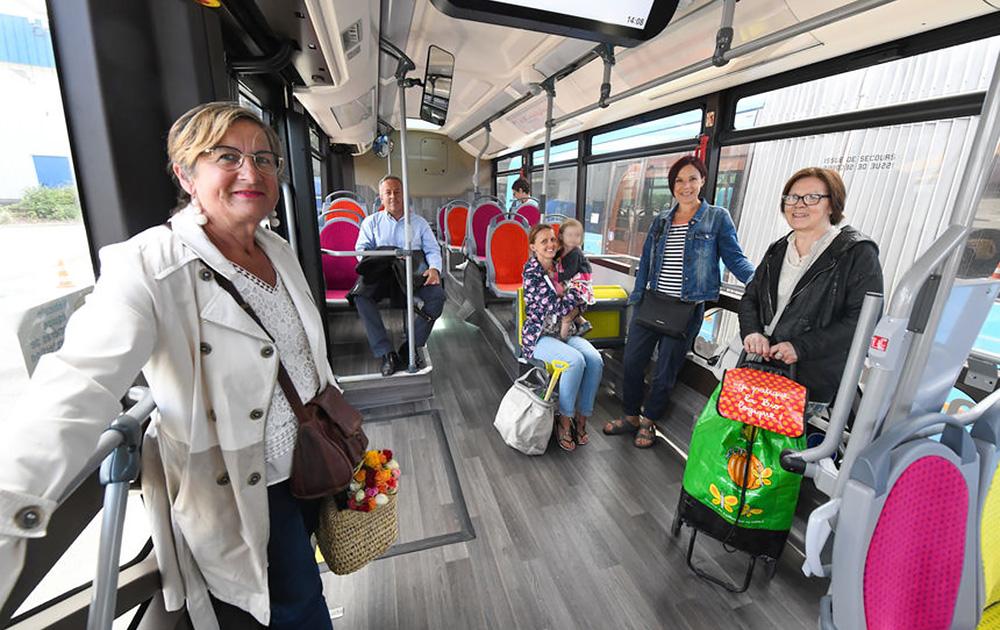 Après une première expérience de gratuité le week-end, lancée en 2015, à Dunkerque, les bus sont désormais gratuits tous les jours (Photo Communauté urbaine de Dunkerque)
