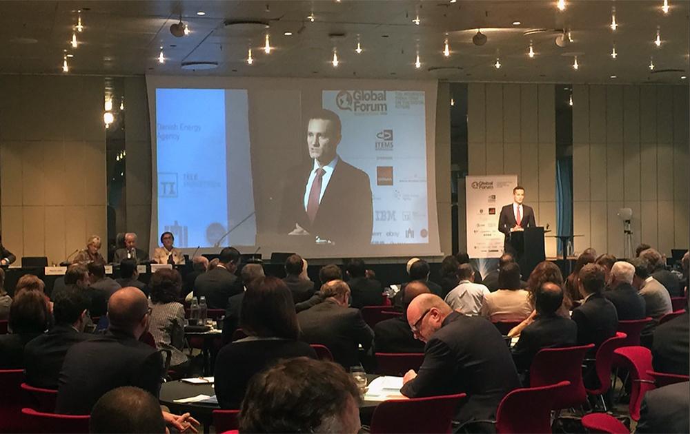 Une conférence du Global Forum de Copenhague (Photo Benoit Pilet - Twitter)
