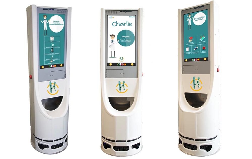 Le robot de santé Charlie, développé par New Health Community (photo NHC)