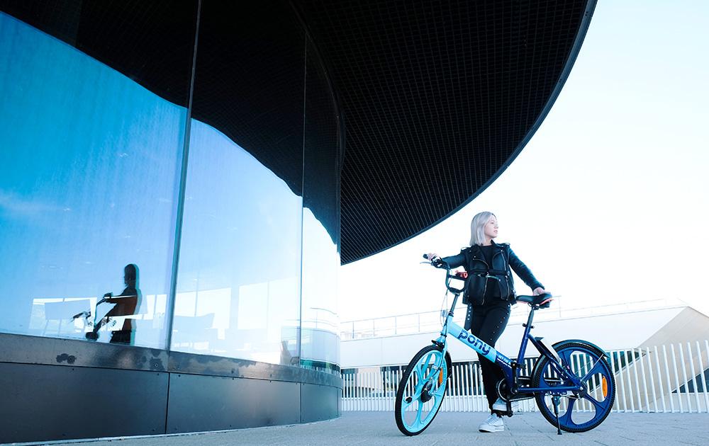 Le vélo en location ou en partage Pony Bike, un concept urbain, jeune et dynamique, qui trace sa route avec prudence et pragmatisme (Photo Pony Bike)