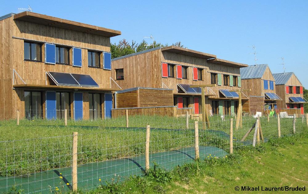 la maison bioclimatique de Langouët