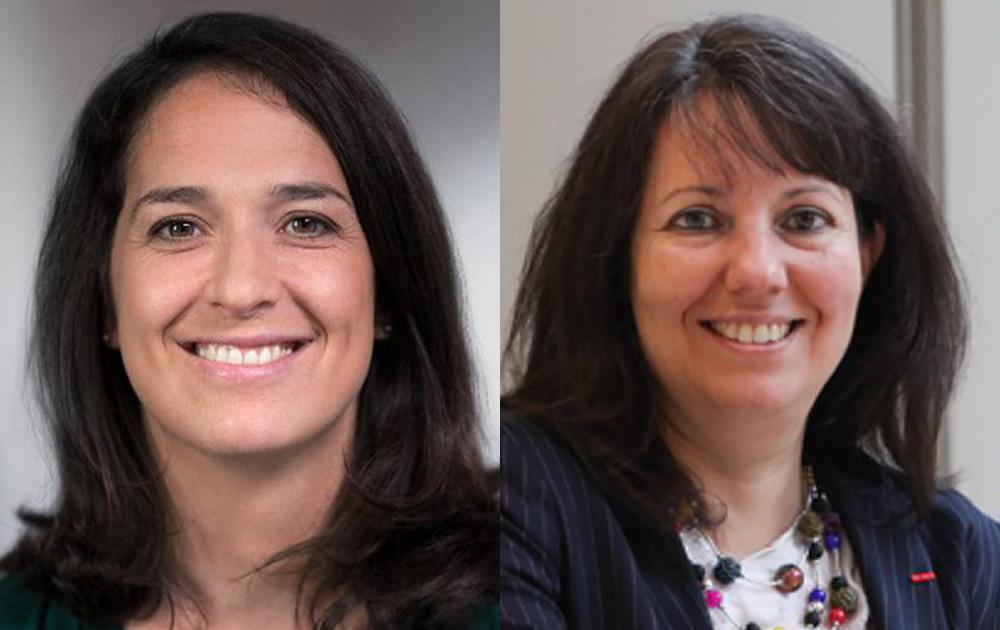 Claire Falzone, Directrice Générale de Nova Veolia et Carmen Munoz-Dormoy, Directrice Générale de Citelum