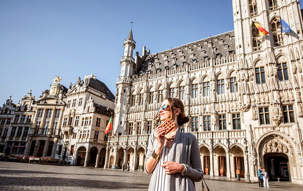 Bruxelles, capitale européenne, ambitieuse et dynamique, associe les citoyens à son projet de Smart City (Photo Adobe Stock)
