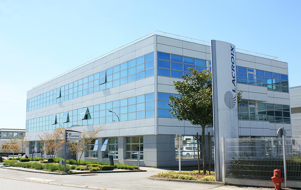 Le siège de LACROIX Group à Saint Herblain (44) (Photo LACROIX Group)