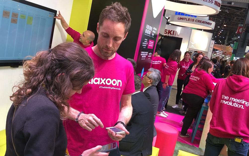 La société Klaxoon lors du dernier salon Viva Tech à Paris