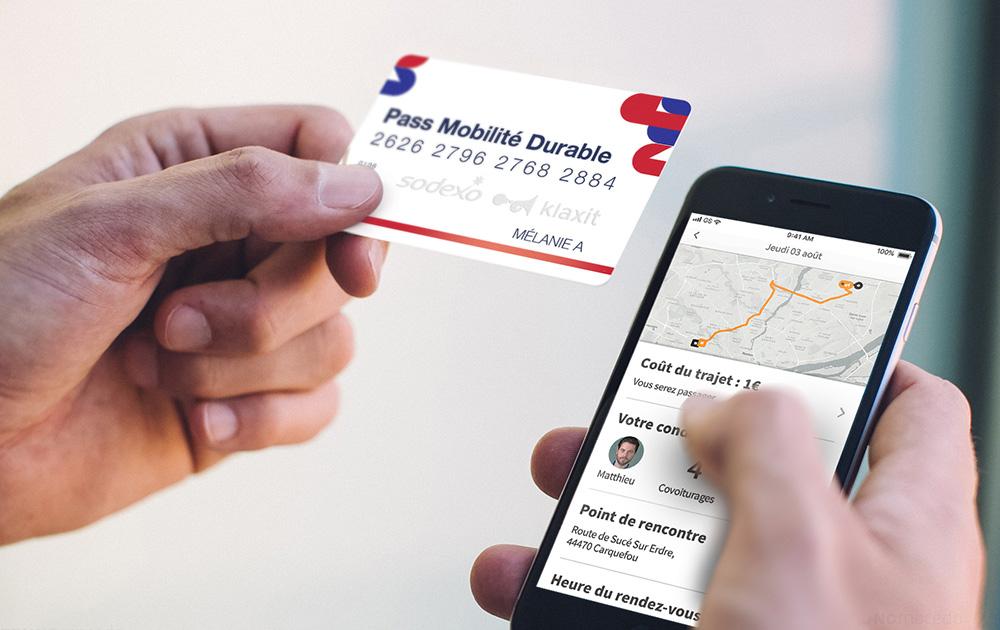Le Pass Mobilité est disponible dès aujourd'hui pour les entreprises et les salariés (Photo Klaxit)