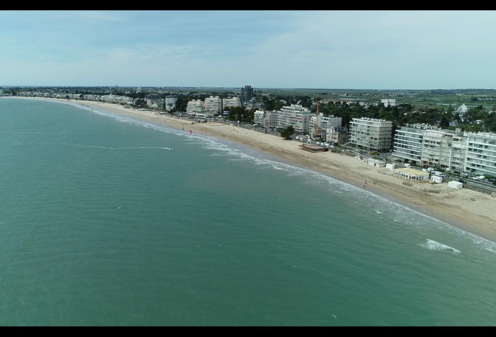 Vue de la plage de la Baule (photo Veolia)