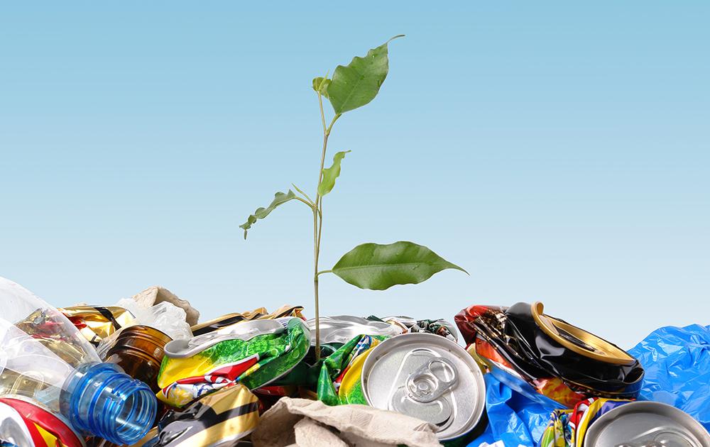 La collecte des déchets place les collectivités territoriales en première ligne (photo Adobe Stock)