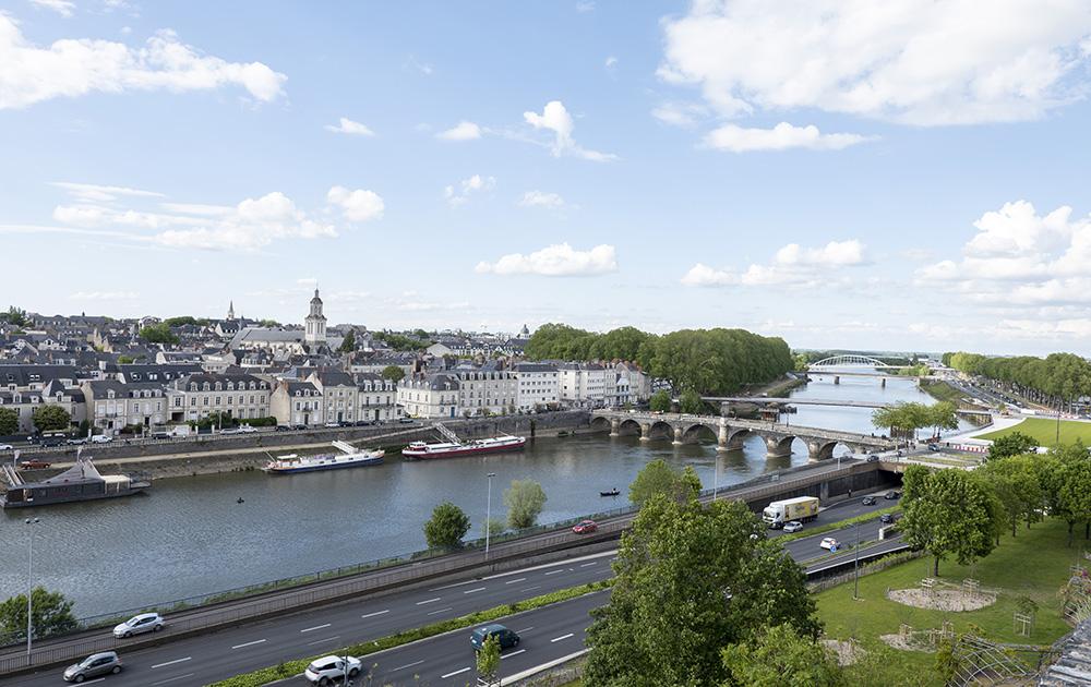 Angers, une ville historique et moderne, toute en douceur, où il fait bon vivre (photo d'archive A l'Ouest Images)