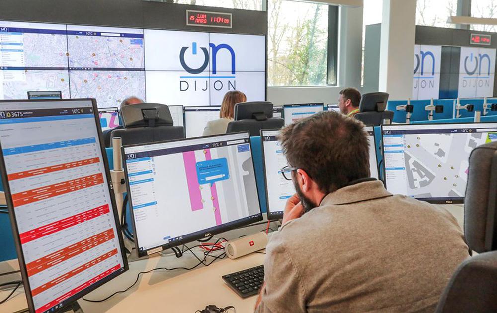 La plateforme de centralisation de Dijon Metropole (Photo OnDijon)