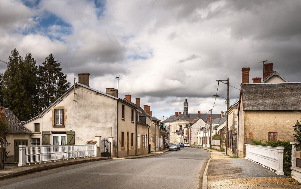 Le village de Baugy dans le Cher (photo commune de Baugy)