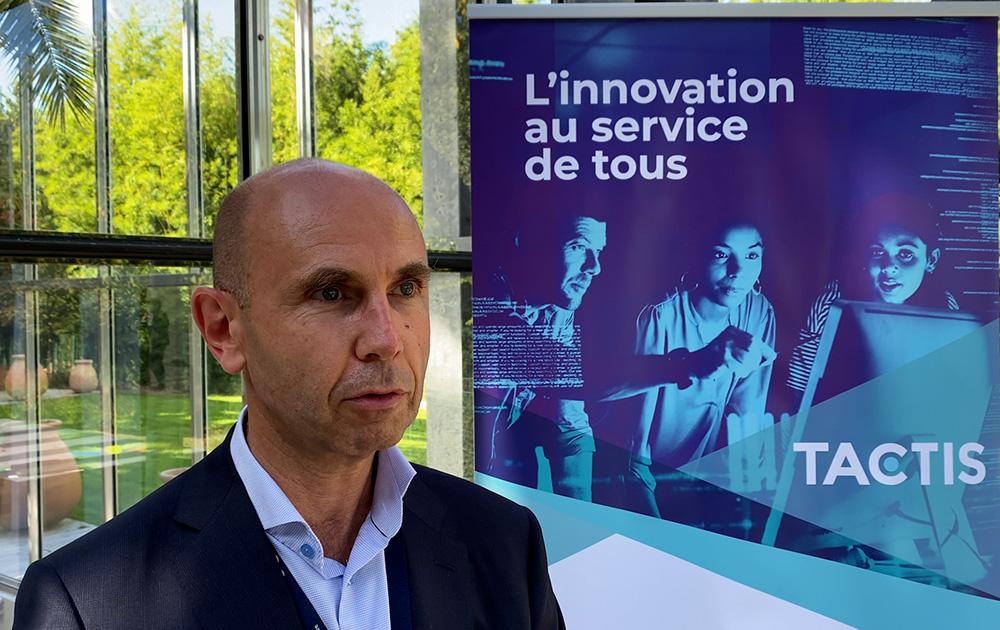 Stéphane Lelux, président / CEO de TACTIS