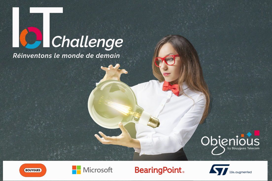 Objenious lance l'IoT Challenge pour réinventer le monde de demain