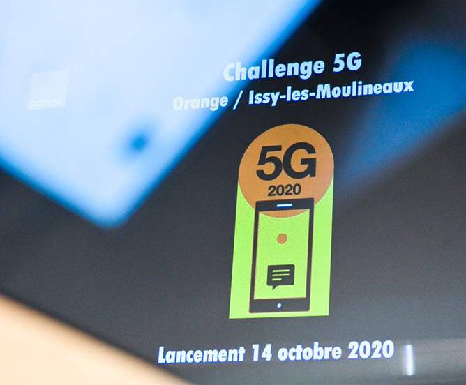 A fond sur la 5G, Issy les Moulineaux lance le Challenge « 5G Orange / Issy »