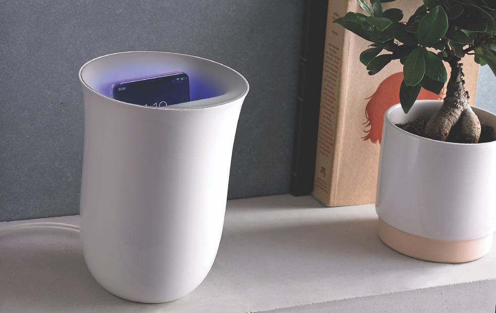 Un objet design et utile qui sera de plus bel effet dans un environnement high-tech (photo Lexon)