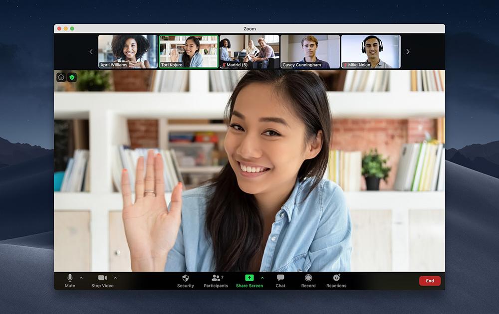 Zoom, la meilleure solution de communication du marché, selon l'agence Gartner (Photo Zoom.us blog)