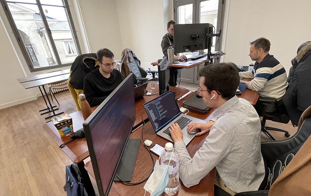 Des entreprises plutôt à l'aise en ces lieux chargés d'histoire (Photo VIM)