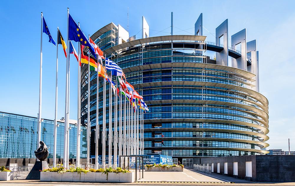 Le parlement Européen de Strasbourg (Photo Adobe Stock)