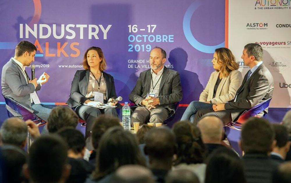 les Industry Talks 2019, en mode présentiez. (photo Autonomy)